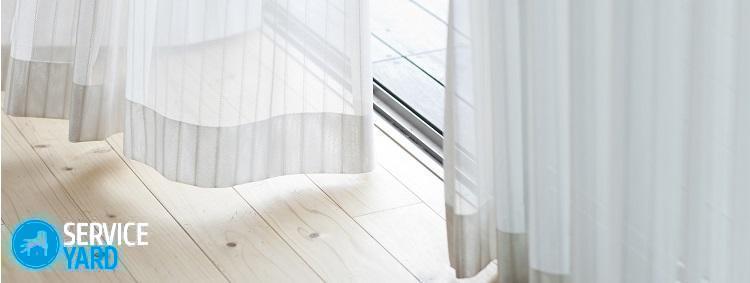 Как отбелить тюль в домашних условиях быстро?