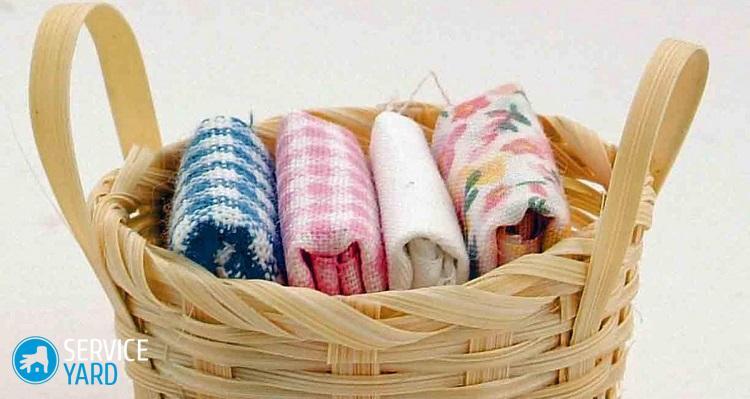 Как отстирать кухонные полотенца при помощи растительного масла?