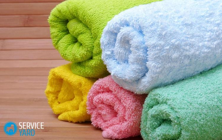 Как отстирать полотенца махровые �� как стирать застиранное