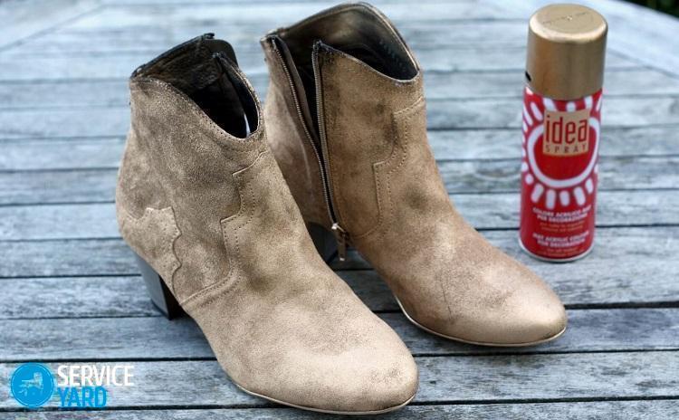 Как почистить замшевую обувь от грязи в домашних условиях?