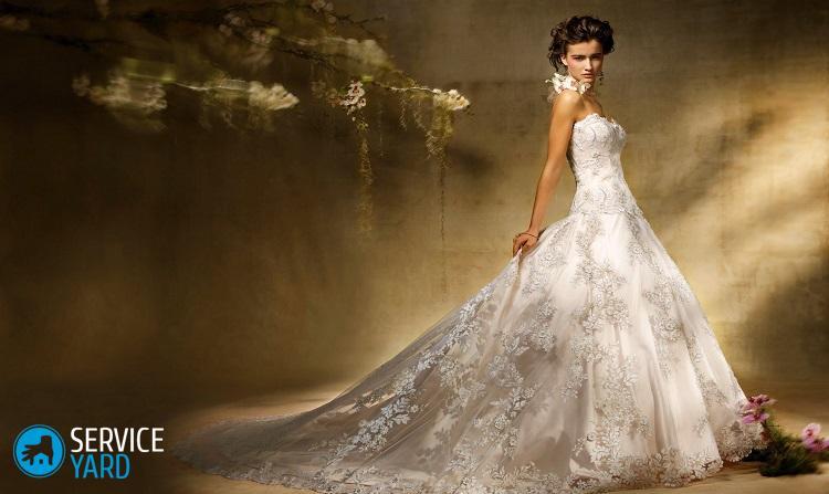 Как постирать свадебное платье со стразами в домашних условиях