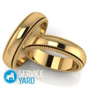 Как отполировать золотое кольцо в домашних условиях?