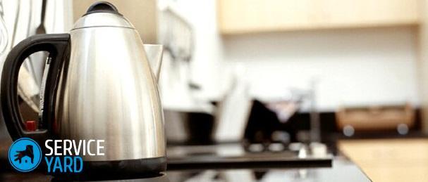 Как очистить чайник от ржавчины?