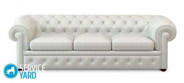 Диван белый экокожа - красивое дополнение комнаты