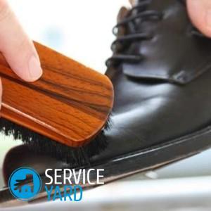Как почистить обувь 🥝 из кожи в домашних условиях