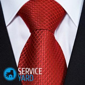 Как стирать галстук в домашних условиях?