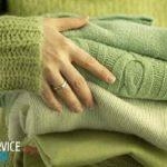 Как растянуть свитер, который сел после стирки?