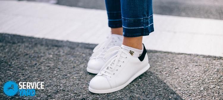 Как отстирать белые кроссовки; чем отстирать тканевые кеды от грязи