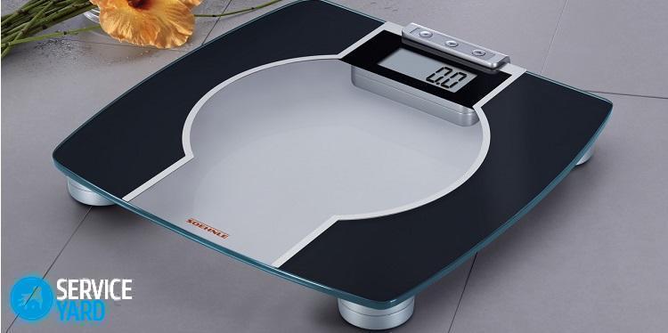 Как починить напольные электронные весы?