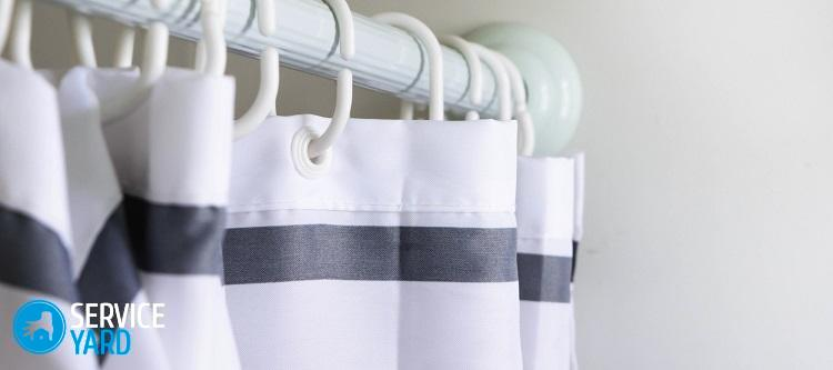 Как стирать шторы в стиральной машине?