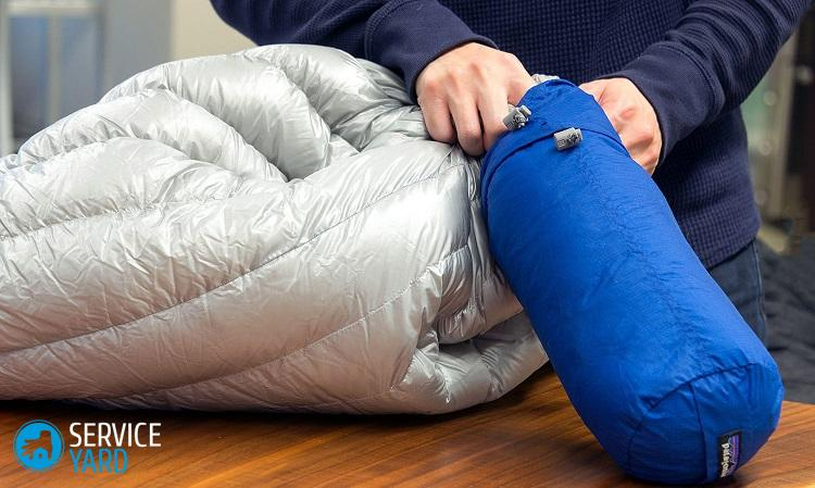 Как стирать спальный мешок в стиральной машине?