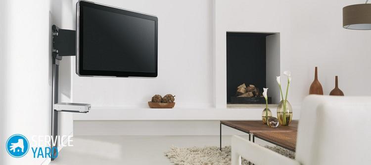 Как выбрать кронштейн для телевизора на стену?