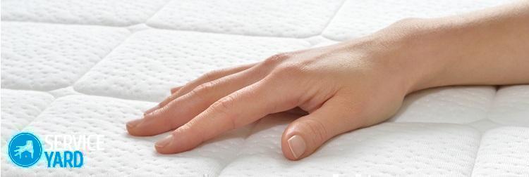 Как вывести пятна крови с матраса?