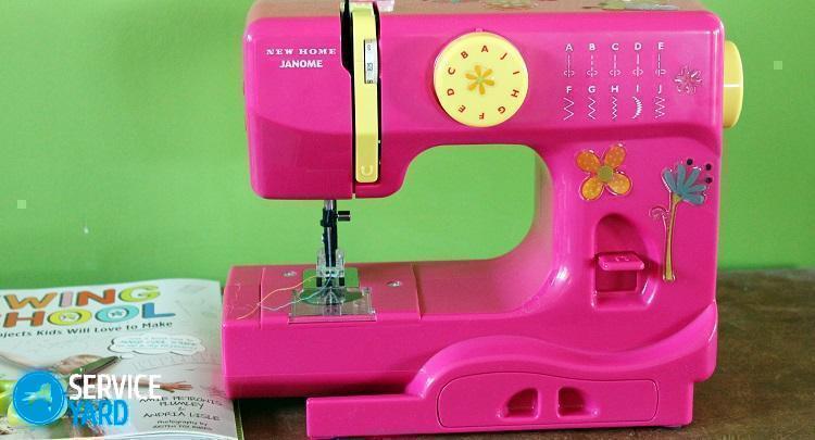 Как заправить швейную машинку