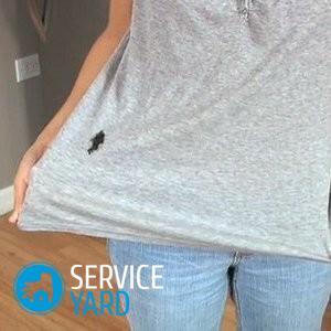 Как стереть лак с одежды?