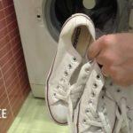 Как в стиральной машине постирать кеды?