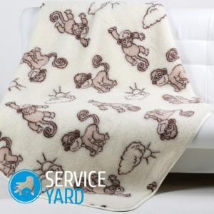 Овечья шерсть — одеяло