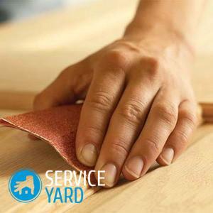 Как снять лак с деревянной поверхности?