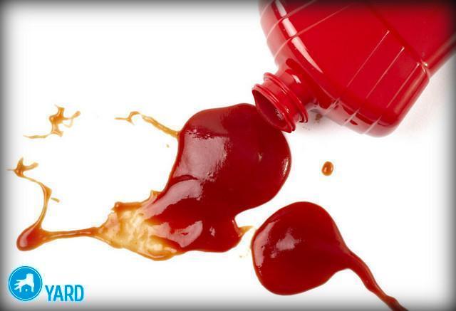 Как вывести пятно на белом от кетчупа, ServiceYard-уют вашего дома в Ваших руках