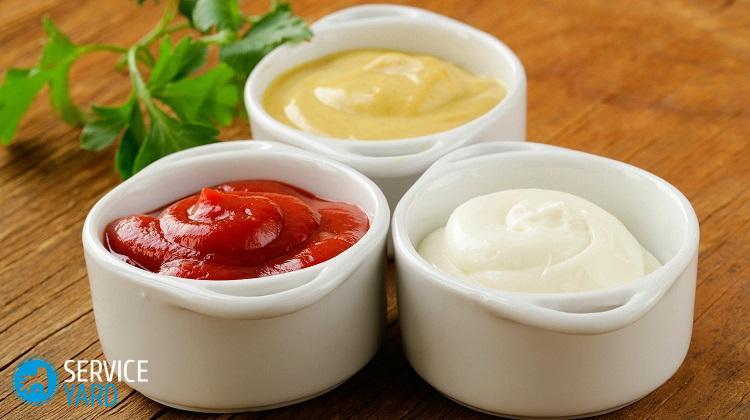 Как вывести пятно на белом от кетчупа