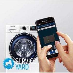 Ошибка на стиральной машине Samsung 5d
