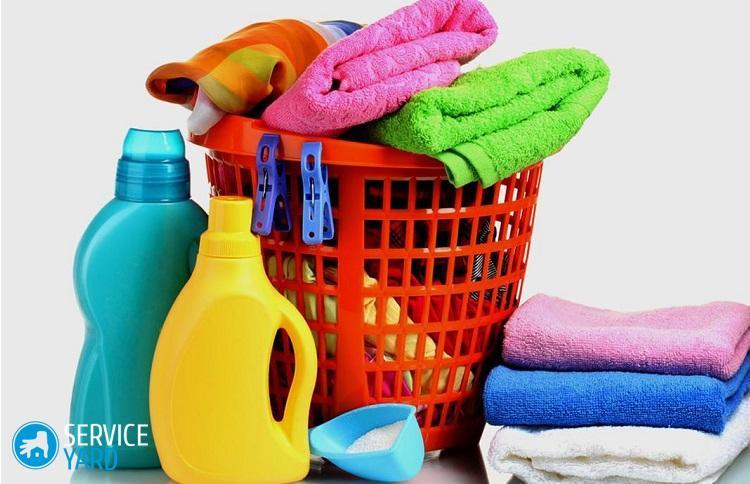 Почему полотенца после стирки в автомате жесткие?