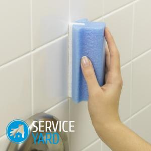 Плесень в ванной на швах плитки - как избавиться