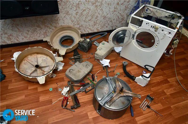 Как заменить подшипник стиральной машины своими руками