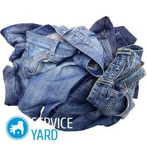 При какой температуре стирать джинсы?