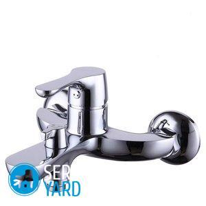 Ремонт смесителя в ванной — переключатель на душ