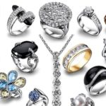 Чистка серебра с камнями