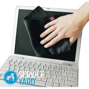 Чем протирать монитор ноутбука в домашних условиях