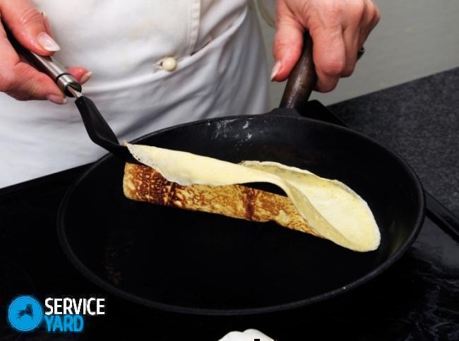 Почему к чугунной сковороде прилипают блины