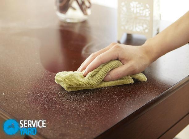 Чем убирать пыль с мебели? Уборка в квартире