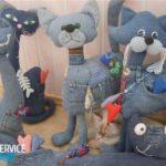 Игрушки из джинсы своими руками — выкройки