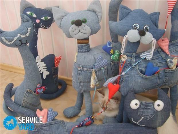 Игрушки из джинсы своими руками - выкройки