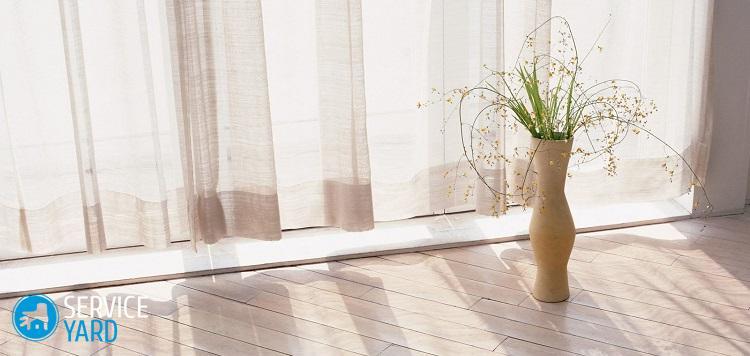 Отбелить тюль в домашних условиях; как отстирать органзу от серости - Уборка в квартире