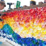 Что можно сделать из крышек от пластиковых бутылок?