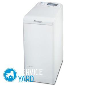Стиральная машина Электролюкс с вертикальной загрузкой, ServiceYard-уют вашего дома в Ваших руках