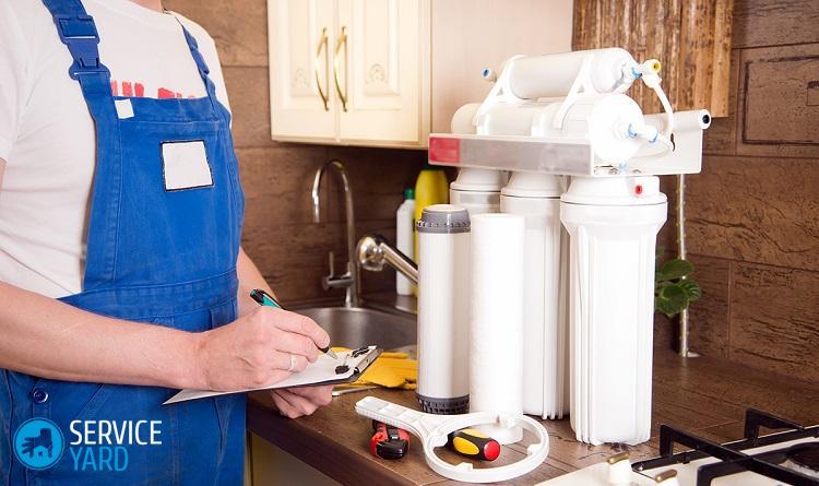 Фильтры для очистки воды в квартире
