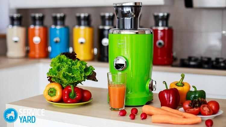 Соковыжималки для овощей и фруктов - как выбрать