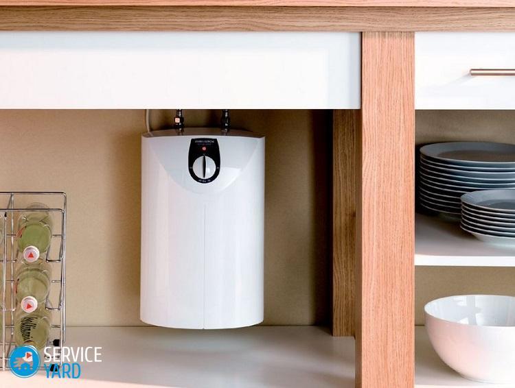 Устройство водонагревателя накопительного электрического