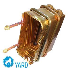 Теплообменник для газовой колонки