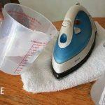 Как почистить утюг от накипи внутри в домашних условиях?