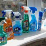 Средство для мытья для окон