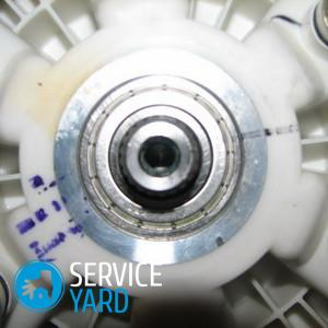 Замена подшипника на стиральной машине LG