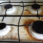 Чистка духовки газовой плиты