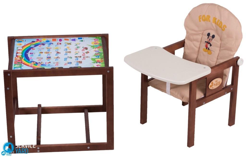 Детский стульчик для кормления своими руками — чертежи, размеры, схемы