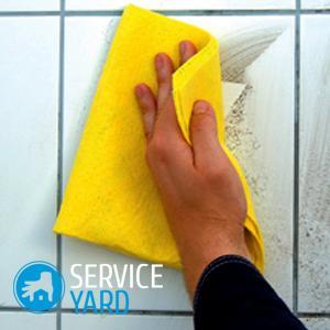 Чем почистить плитку в ванной?