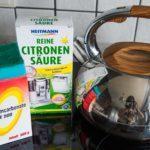 Как почистить чайник из нержавейки снаружи?